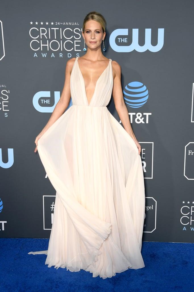 Poppy Delevingne at the 2019 Critics' Choice Awards