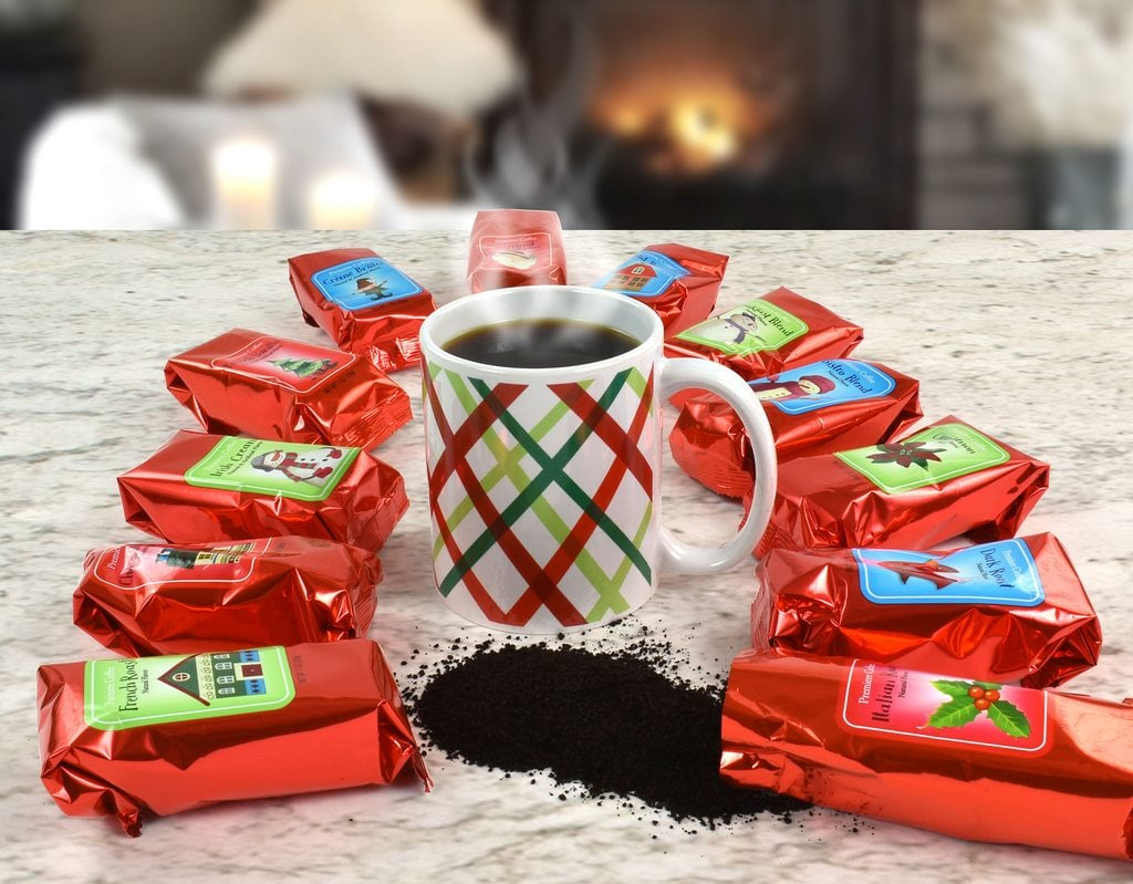 12 Coffees of Christmas Holiday Boxed Gift Set