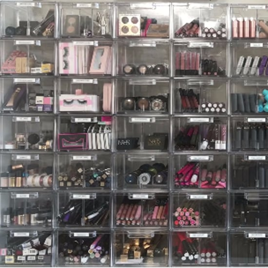 Desi Perkins Makeup Storage Video