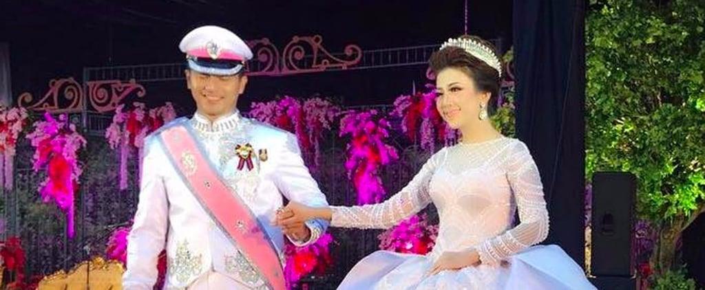 Cette Mariée Indonésienne S'est Inspirée de Cendrillon Pour son Grand Jour