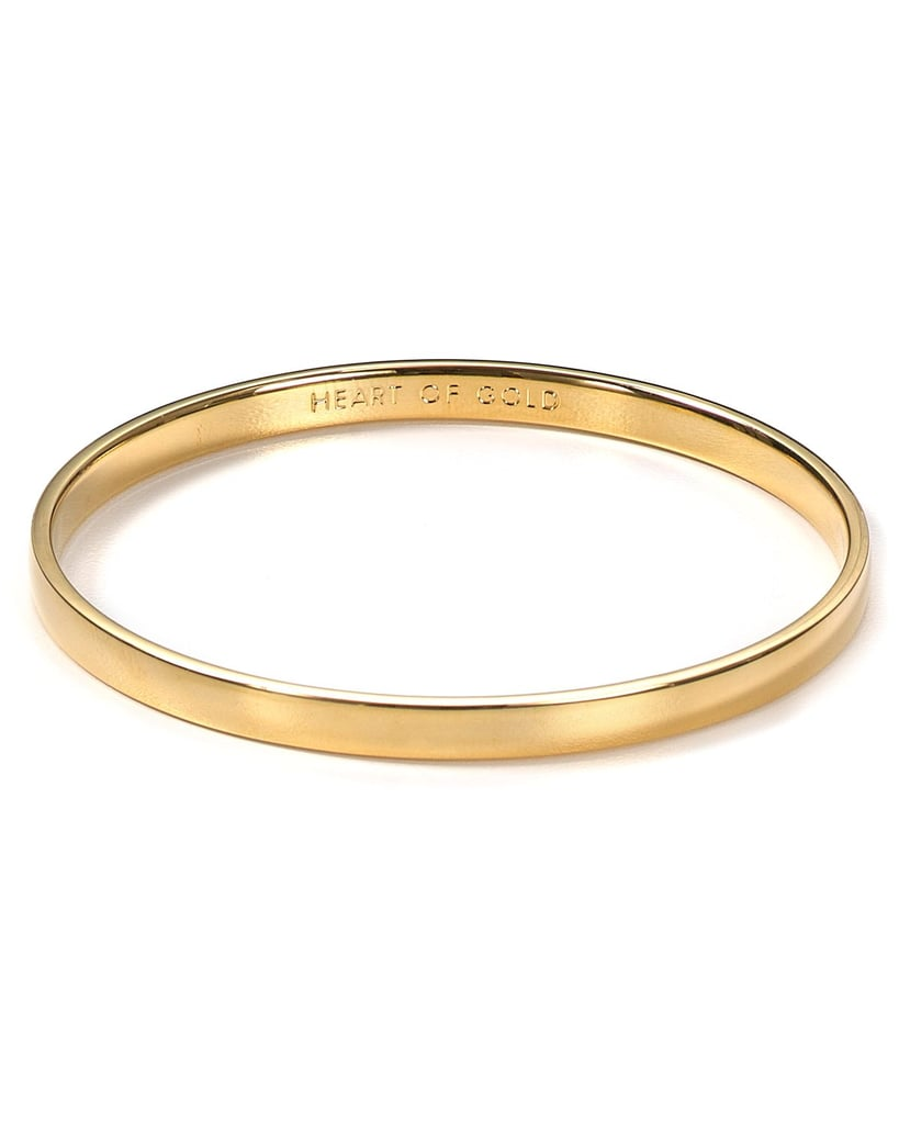 For Her: Heart of Gold Bangle