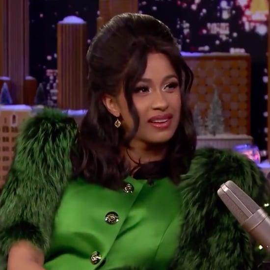 Cardi B on The Tonight Show Starring Jimmy Fallon Dec. 2017