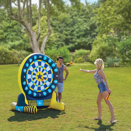 A 6' Inflatable Dart Board Exists, and It Can Go in the Pool
