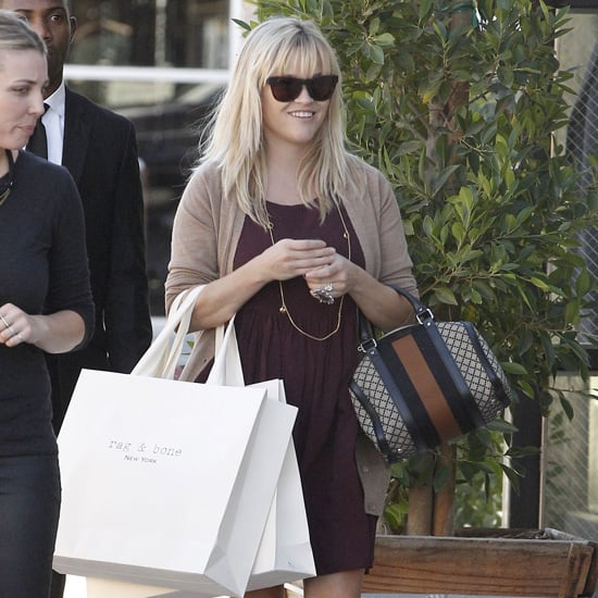Reese Witherspoon Wearing Rag & Bone Booties