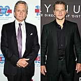 Behind the Candelabra's Michael Douglas and Matt Damon, both nominated for lead actor in a miniseries, will have their Emmy presenter debuts at the awards.