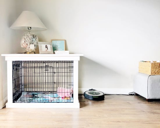 Diy Dog Crate Popsugar Home