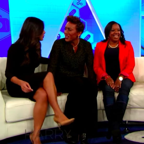 Robin Roberts Meeting With Cancer Nurses on Harry Video