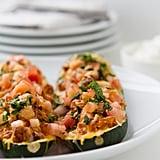 Keto: Chicken Enchilada Zucchini Boats