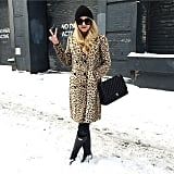 Letting a Statement Coat Do All the Talking