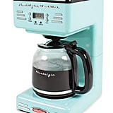 Nostalgia RCOF120AQ Retro 12-Cup Programmable Coffee Maker