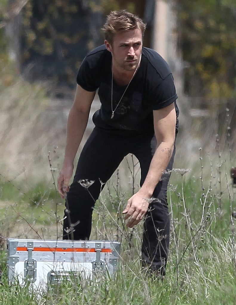 Ryan Gosling worked on his new film, How to Catch a Monster.