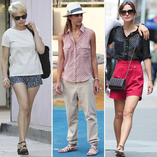 How to Wear Polka Dots (Celebrity Pictures and Shopping)