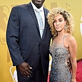 Shaquille O'Neal and Laticia Rolle