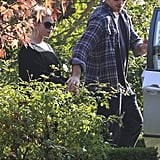 Jessica Simpson stepped out in LA with her fiance Eric Johnson.