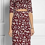 Suno Printed Cutout Dress