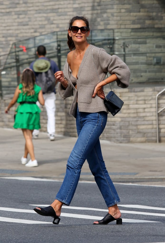 Katie Holmes Has Fall Street Style Figured Out, and We Should All Be Taking Notes