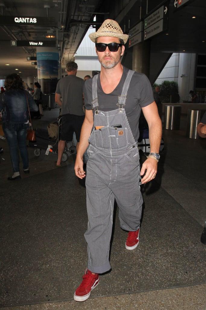 Celebrity Men Wearing Overalls