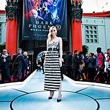 Sophie Turner at the Hollywood X-Men: Dark Phoenix Premiere in 2019