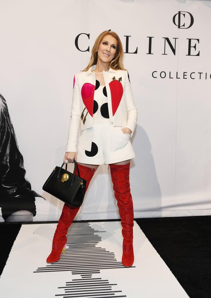 1895290e1e Celine Dion s Accessories Collection 2017