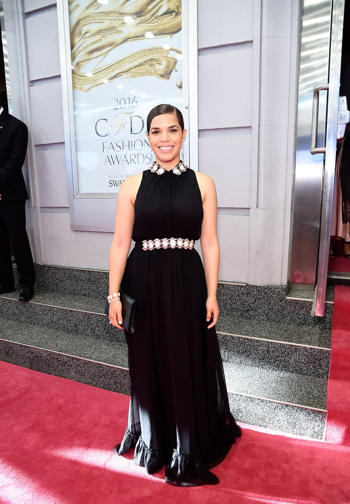 America Ferrera's Kate Spade Dress at the CFDA Awards 2016