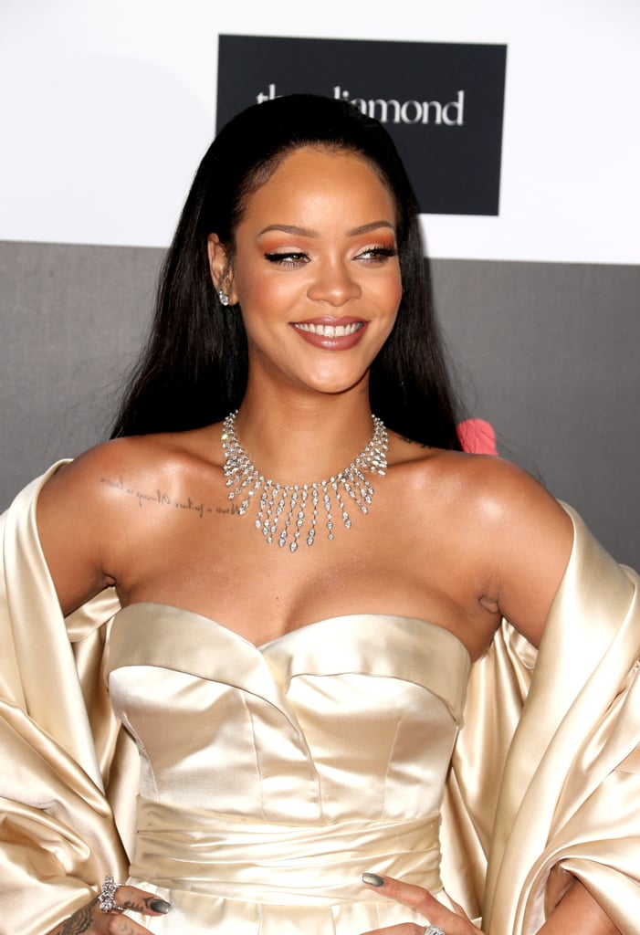 e70e1a4ad1ae Celebrities at Rihanna's Diamond Ball 2015 Pictures | POPSUGAR ...