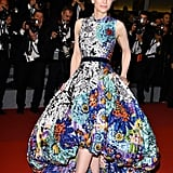 Cate Blanchett in Mary Katrantzou at Cannes Film Festival