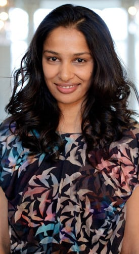 Saloni Lodha Talks About Her Autumn Winter 2011 Collection at London Fashion Week