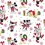 Disney Mickey Mouse and Friends Jumbo Christmas Wrapping Paper Roll