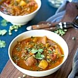 Southwestern Split Pea Soup With Potatoes