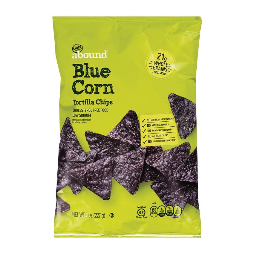 Gold Emblem Abound Blue Corn Tortilla Chips