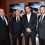 Ben Affleck went to the premier of his new film Argo in NYC.