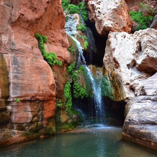 Elves Chasm Waterfall Grand Canyon