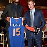Prince Harry attended a Coach-Core graduation event in London on Wednesday.