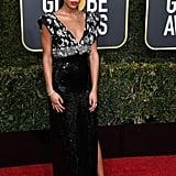 Laura Harrier at Golden Globes
