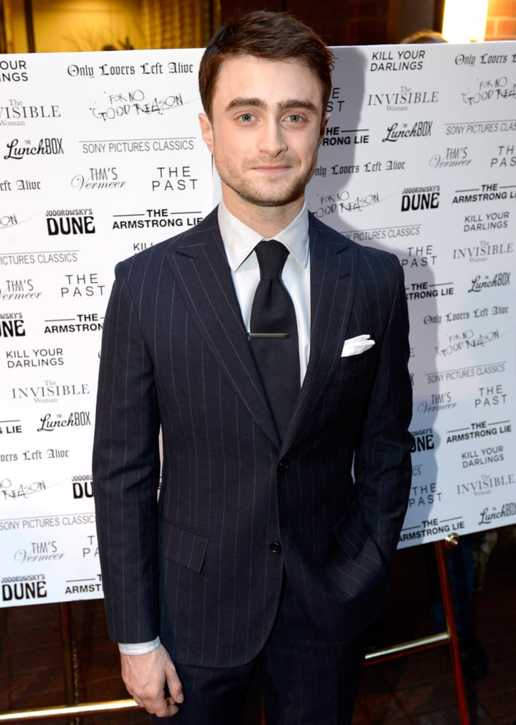 Daniel Radcliffe posed for photos at the Sony Pictures Classics cast dinner.