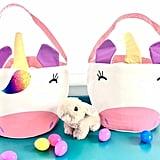 Rainbow Unicorn Easter Basket