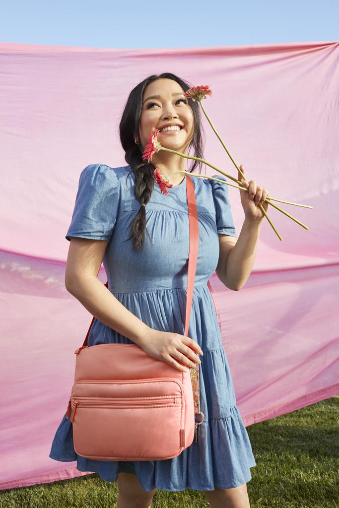 Lana Condor's Vera Bradley Utility Backpacks Are Beyond Cute