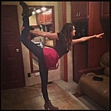 Jake Johnson claimed to have taught Nina Dobrev everything she knows about yoga. Source: Instagram user MrJakeJohnson