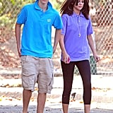 Justin Bieber joined Selena Gomez for a trip to the zoo.