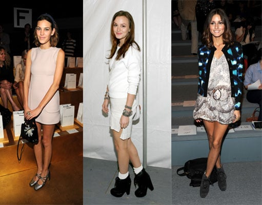 Front Row Celebs at the New York Spring '11 Fashion Week Shows 2010-09-13 23:40:00
