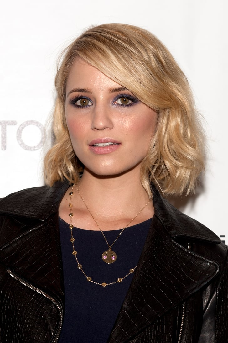 Dianna Agron Celebrity Beach Wave Hair Looks Popsugar