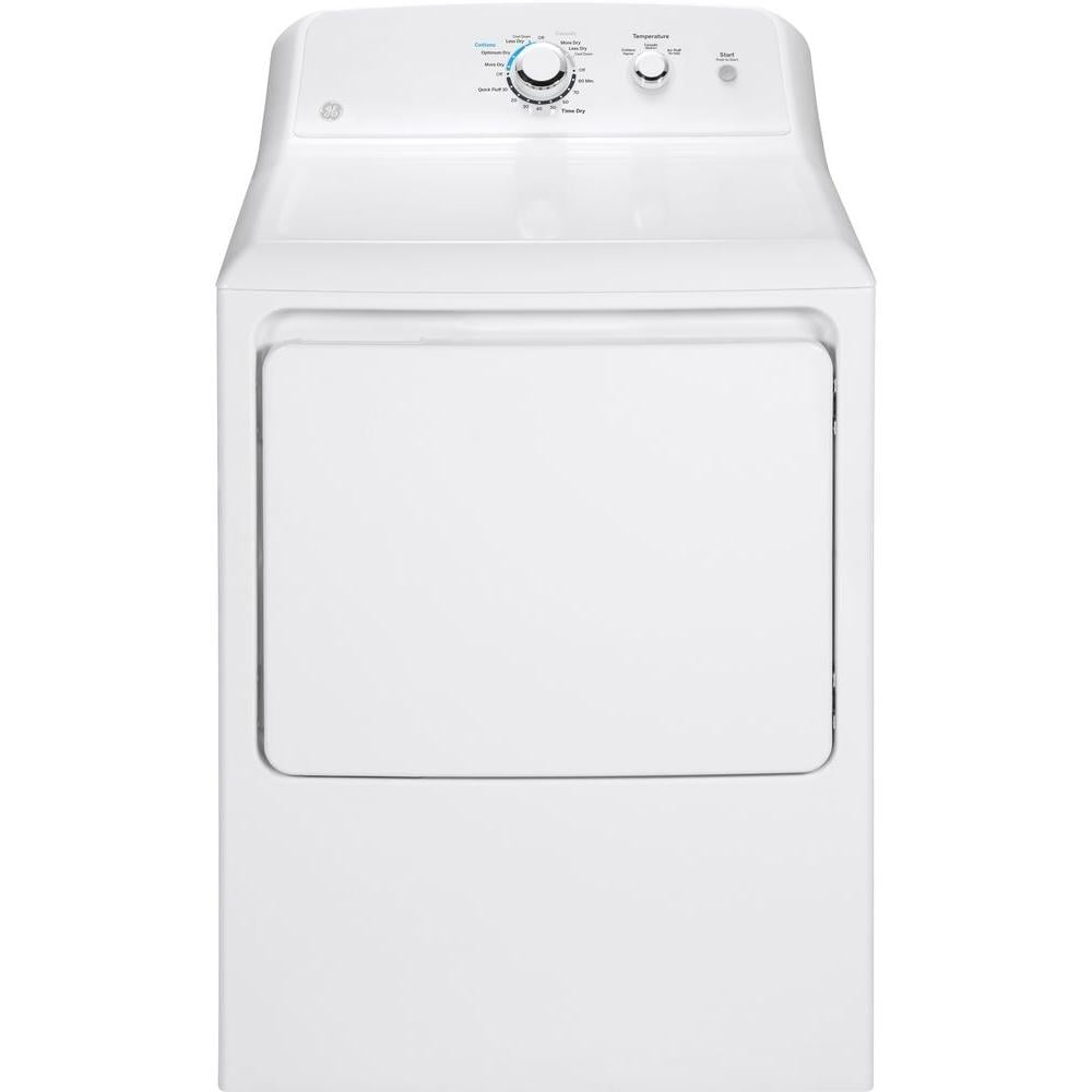 GE White Electric Vented Dryer
