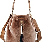 Elizabeth and James Shearling Fur Bucket Bag ($595)