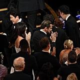 Leonardo DiCaprio and Camila Morrone at the Oscars 2020