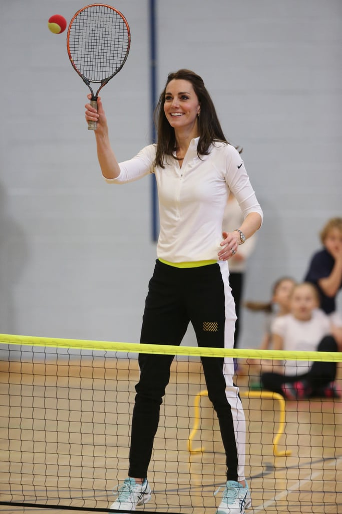Kate Middleton at Tennis Workshop Scotland 2016