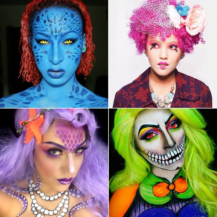 costume ideas for different hair colors