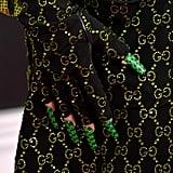 Billie Eilish's Gucci Nail Art
