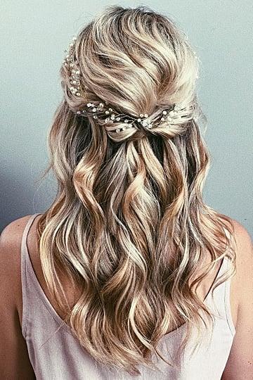 Half-Up Wedding Hair Ideas