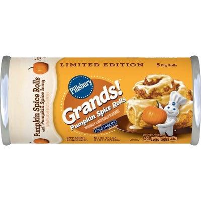 Pillsbury Grands! Pumpkin Spice Cinnamon Rolls