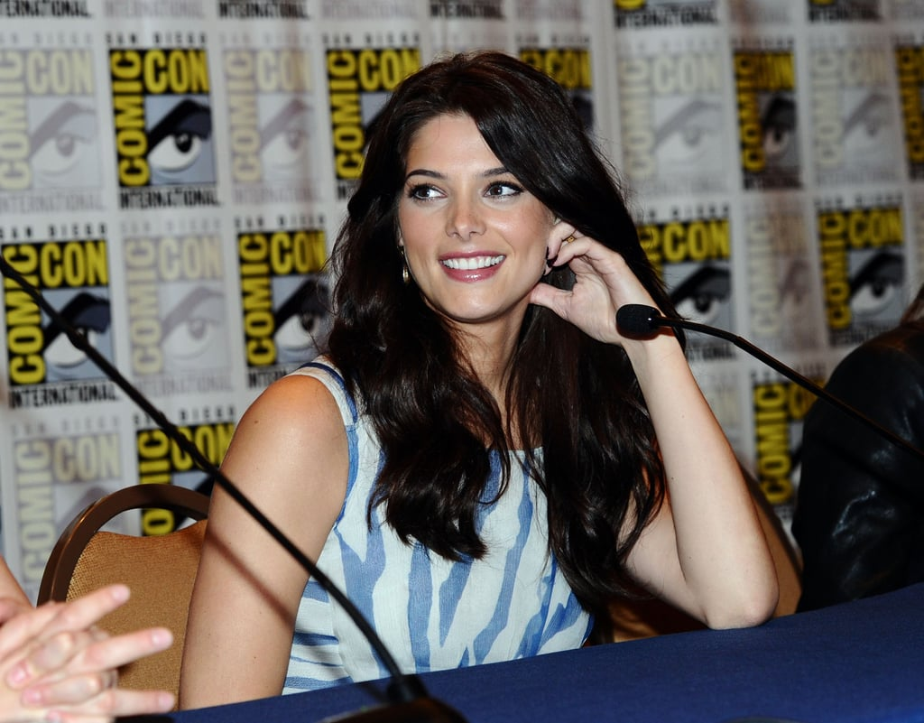 Ashley Greene talked about Breaking Dawn Part 1 in 2011.